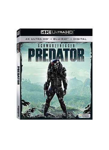 Blu Ray Predator 2d - 4k - Stock - Nuevo - Sellado