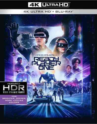 Blu Ray Ready Player One 2d - 4k - Stock - Nuevo - Sellado