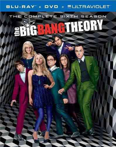 Blu Ray The Big Bang Theory: 6ta. Temporada - Stock - Nuevo
