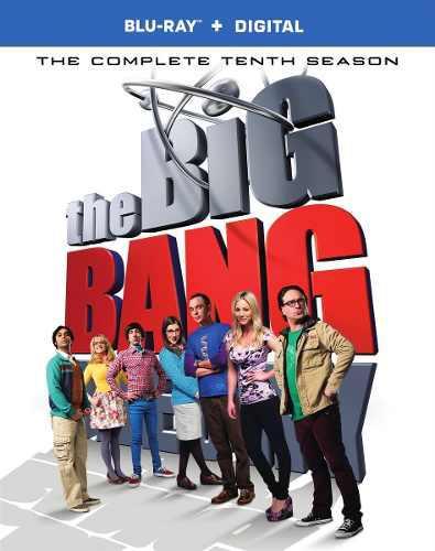 Blu Ray The Big Bang Theory. Temporada 10 - Stock - Nuevo