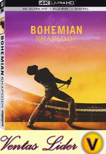 Blu-ray 4k Ud + 2d / Bohemian Rhapsody Queen. De Ventaslider