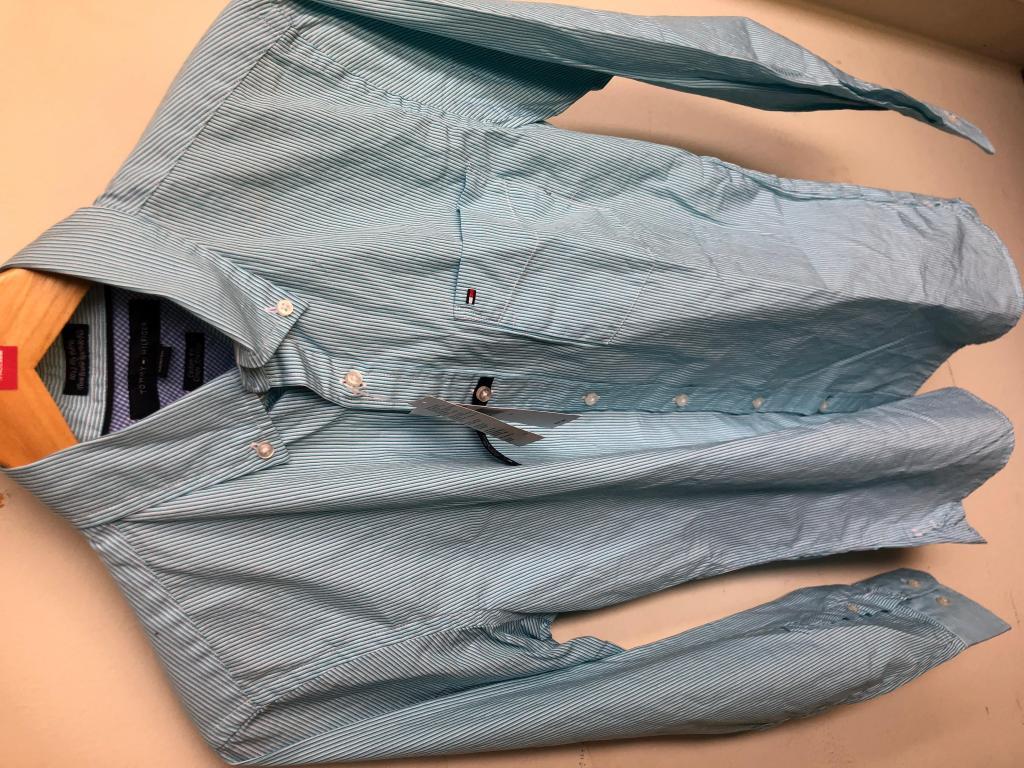 Camisa Tommy Hilfiger 80's 2 Ply Fabric Nueva Original
