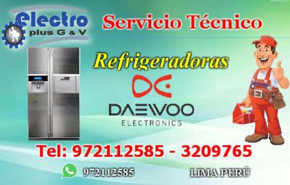 Servicio asesor, servicio tecnico de refrigeradoras daewoo,