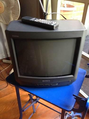 Television Tv A Color Sony De 14 Pulgadas