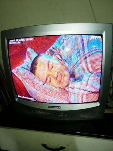 Televisor Daewoo 21 Con Control Remoto