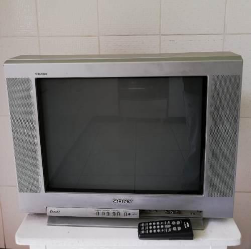 Televisor Sony Trinitron De 21 Pulgadas