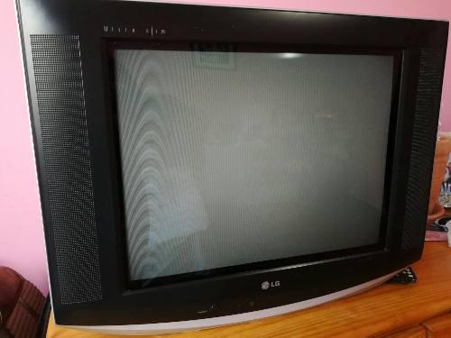 Tv Lg Flatron 21 Pulgadas C/control