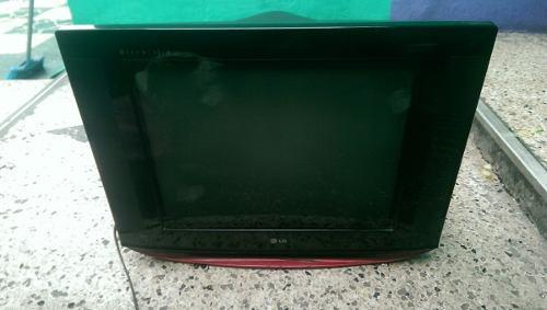 Tv Televisor 21 Lg Pantalla Plana Malogrado Para Repuestos