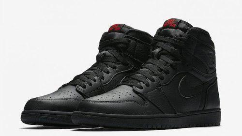 Zapatillas Nike Jordan 1 Retro High Og Black Nuevas Hombre