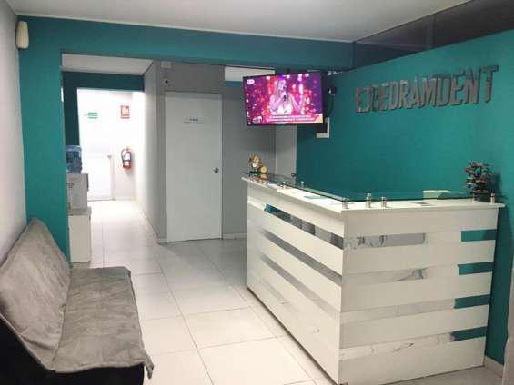 Alquiler de consultorio dental en Lima