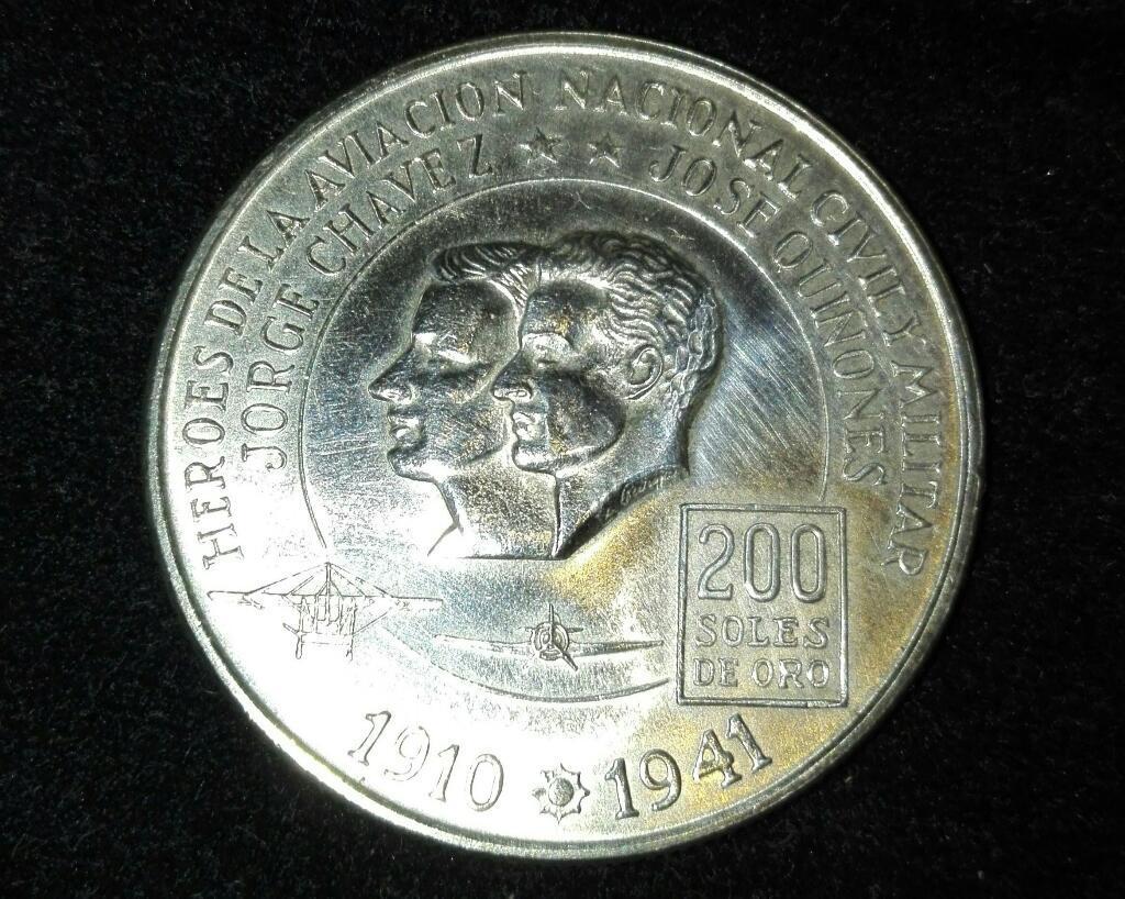 Moneda Héroes de La Aviación Civil Y Mil