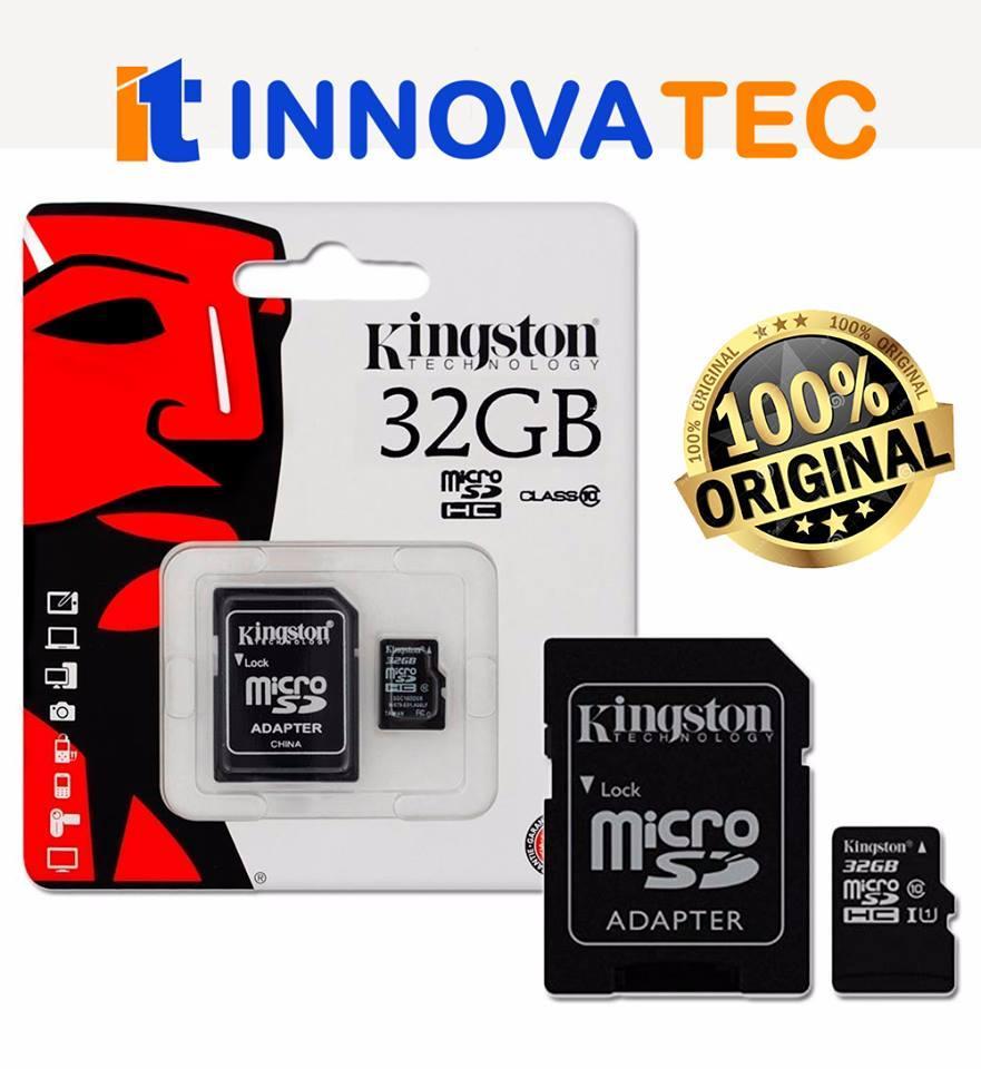 OFERTA MEMORIAS KINGSTON MICROSD 32GB CLASE 10 /POR MAYOR Y