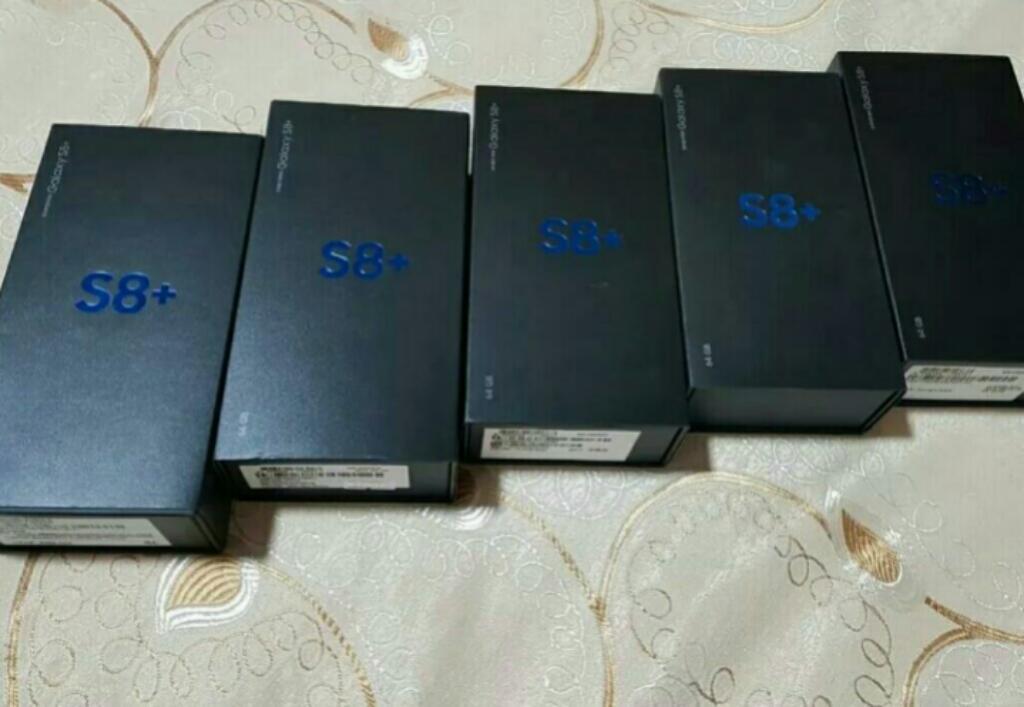 Samsung Galaxy S8 Plus, Cam.12mpx Y 8mpx Dual Pixel, 4gb Y