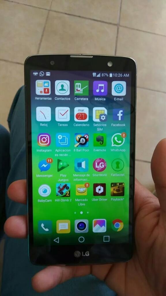 Vendo celular LG Stylus 2 Plus,4G LTE Libre,Camara Nitida de