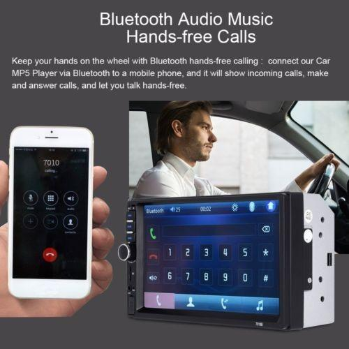 Autoradio 2 Din p Full Hd Sd Usb Bluetooth