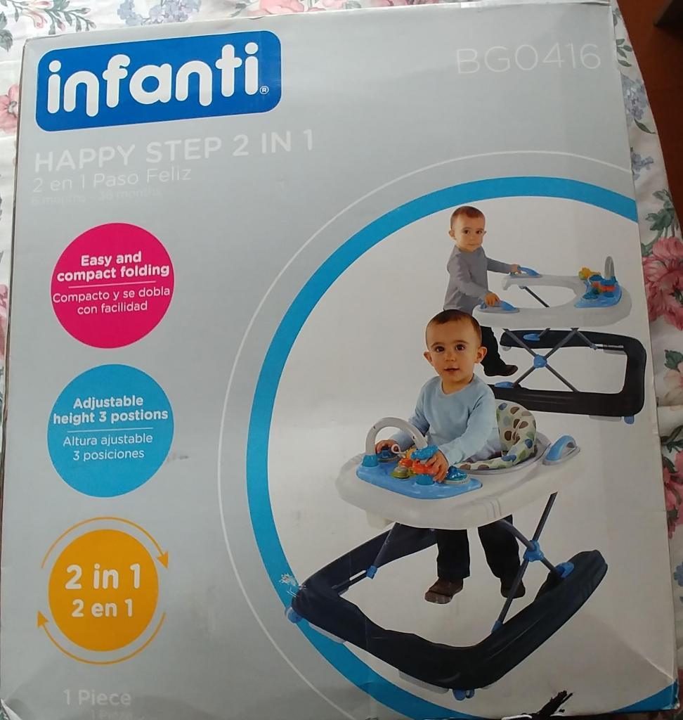 Andador para bebes 2 in 1 INFANTI NUEVO!!!