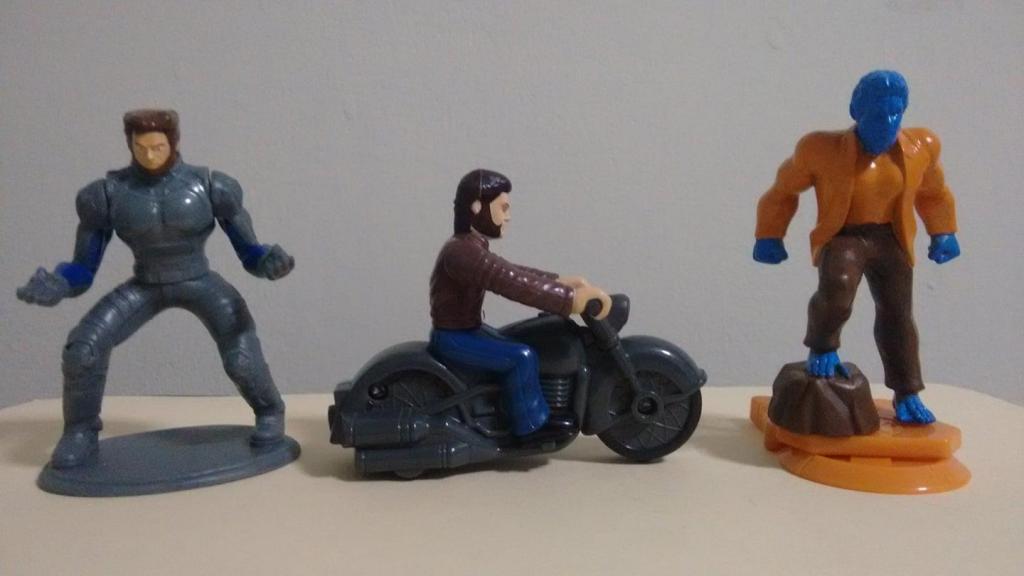 Colección Burger King y KFC de Marvel: X.Men, Wolverine