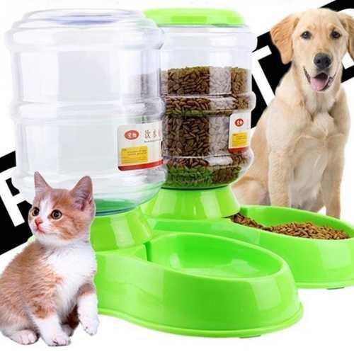 Dispensador Automático De Agua/comida Para Mascotas