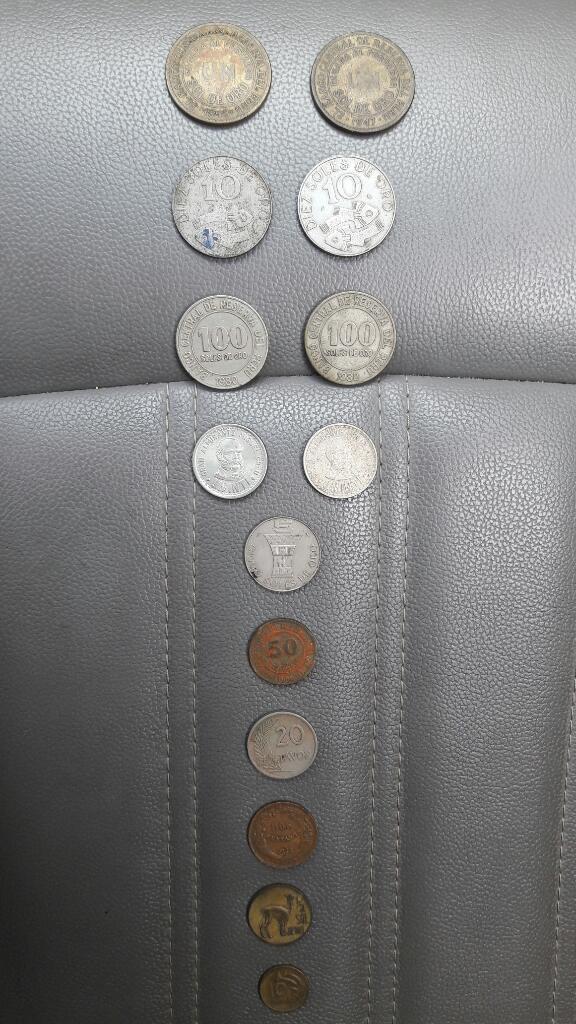 Monedas Peruanas Colección