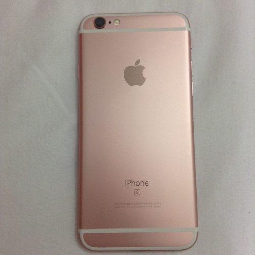Iphone 6s Libres 16gb 4g 12mp En Caja Como Nuevo Rose Gold!