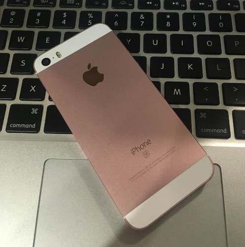 Iphone Se 128gb Rose Gold Apple Usado + Cargador