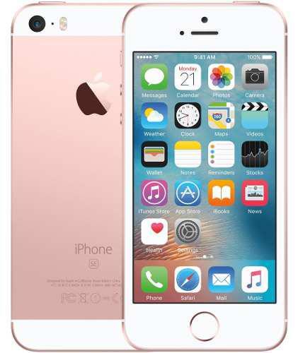 Iphone Se 32gb Rose Gold Apple Sellado Tienda Garantía