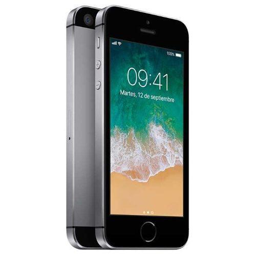 Iphone Se Gris 16gb Libre A9,4g Lte,12mp,4k Caja Sellada