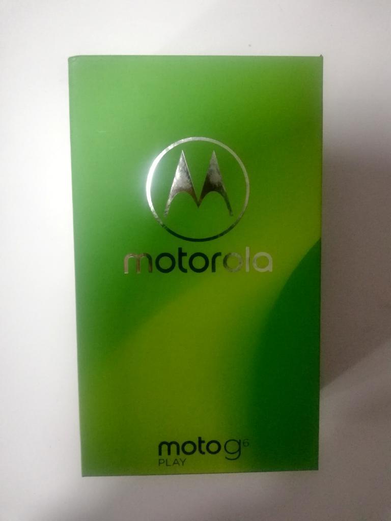 Motorola Moto G6 Play Sellado