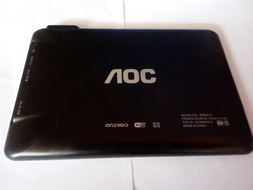 Tablet Aoc para Repuestos