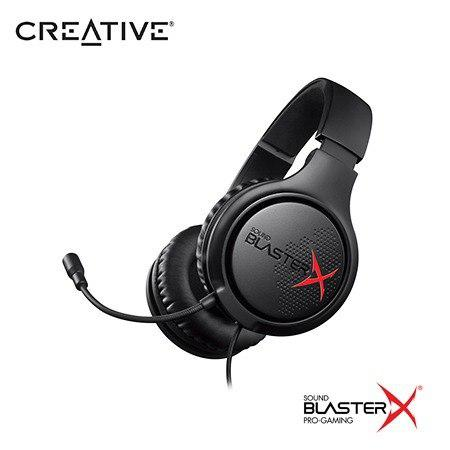 Audifono C/microf Creative Gaming H3 Sbx Black