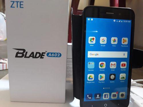 Celular Zte Blade A602, Con 16gb Blanco 10/10