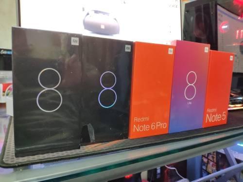 Celulares Xiaomi Mi 8 Redmi Note 6 Pro Note 5 Mi 8 Lite