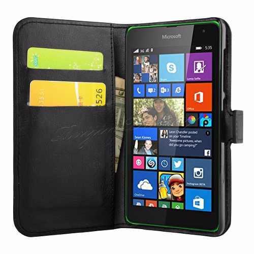 Flip Cover Carcasa Case Microsoft Nokia Lumia 640 A S/.49