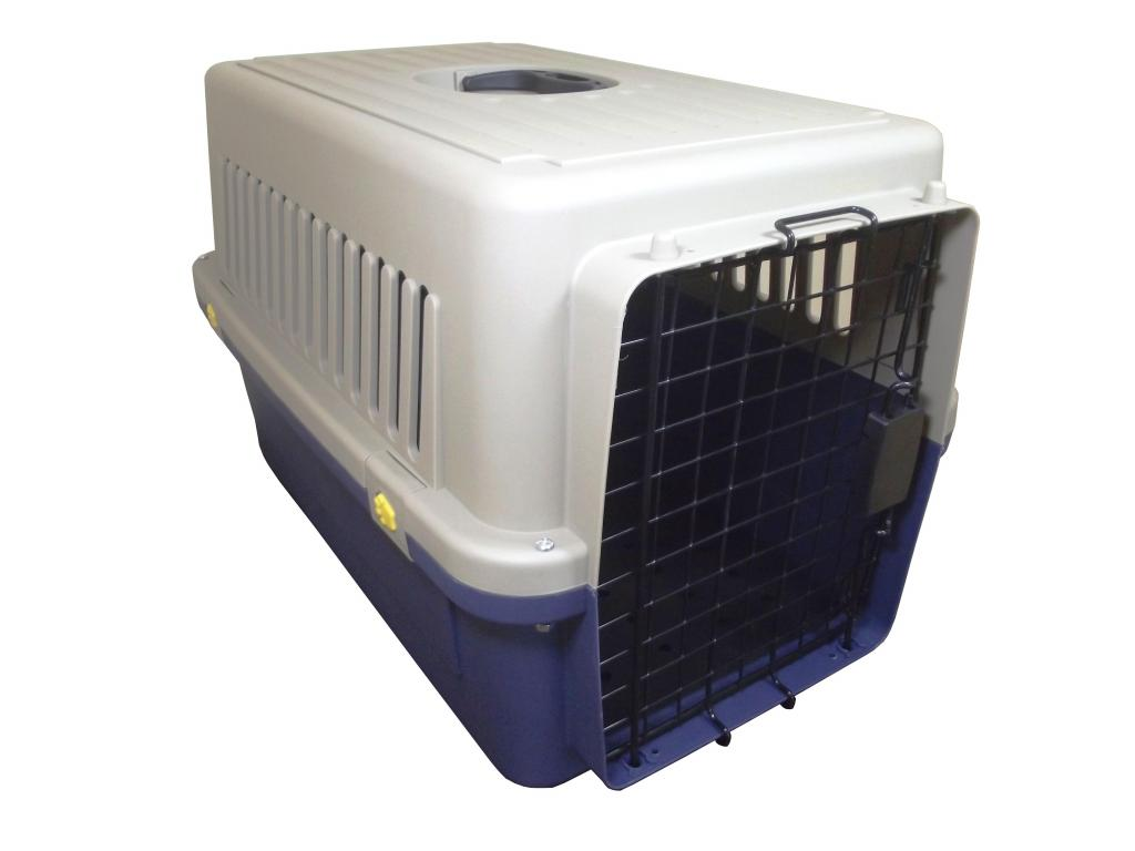 Kennel Transportador Pequeño L60 para mascotas pequeñas.