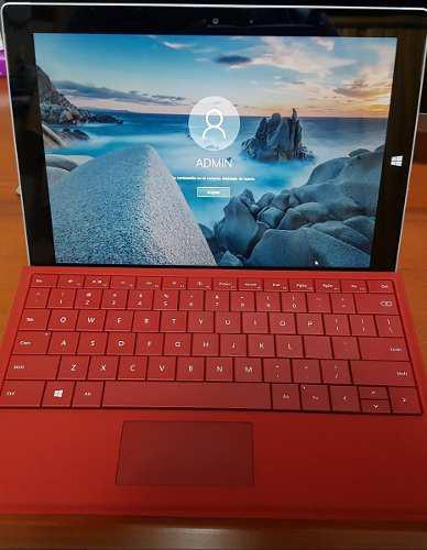 Laptop Microsoft Surface 3 Con Teclado Y Lapiz