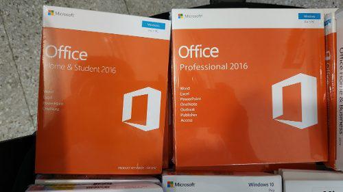 Microsoft Office 2016 Hogar Y Estudiantes Sellado Retail