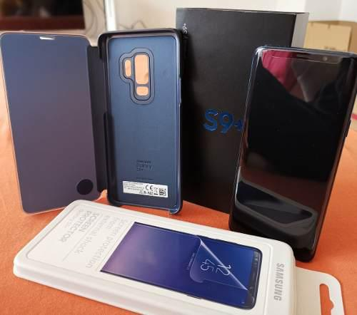 Samsung Galaxy S9 Plus Sm-g965f/ds Coral Blue 64 Gb (nuevos)