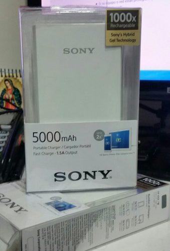 Cargador Portatil Sony De 5000mah Smartphone