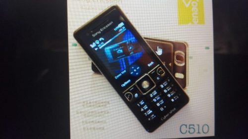 Celular Sony Ericcson C510 3,2 Mgpxl 3g Libre A Pedido