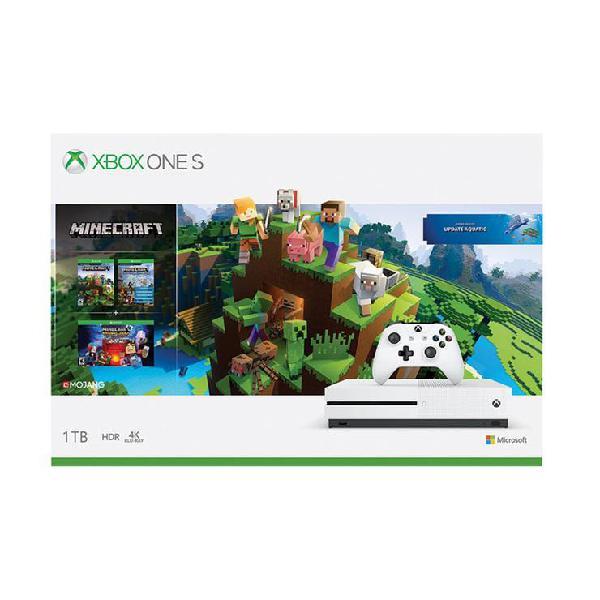 xbox one S 1TB MINECRAFT PACK 1199 SOLES