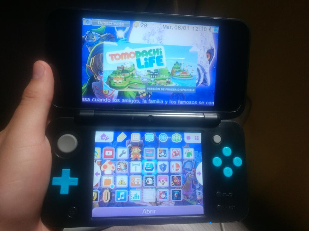 New Nintendo 2ds Xl en Caja Flasheado!!!