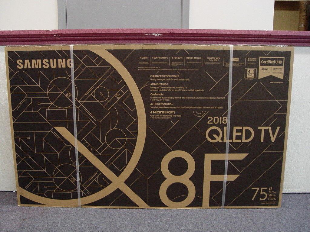 Samsung QN75Q8FN  Smart Q LED 4K Ultra HD TV con HDR