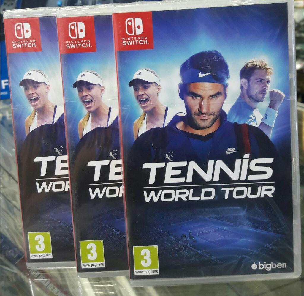 Tennis World Tour Nintendo Switch Nuevo