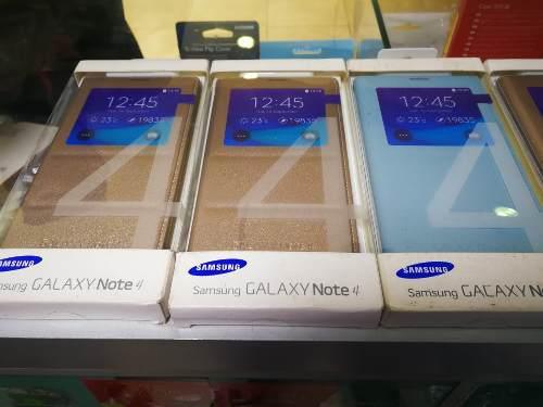 Flip Cover Original Samsung Note 4 Sellado