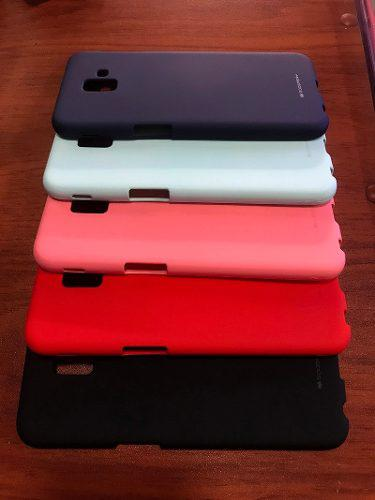 Funda Case Protector Tpu Gel Silicona J6 Plus Samsung Jelly