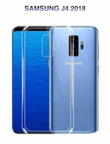 Funda Case Protector Tpu Transparente Para Samsung J4 2018