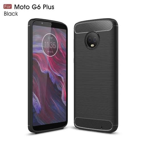 Funda Fibra Carbono Motorola Moto G6 Play - G6 Plus