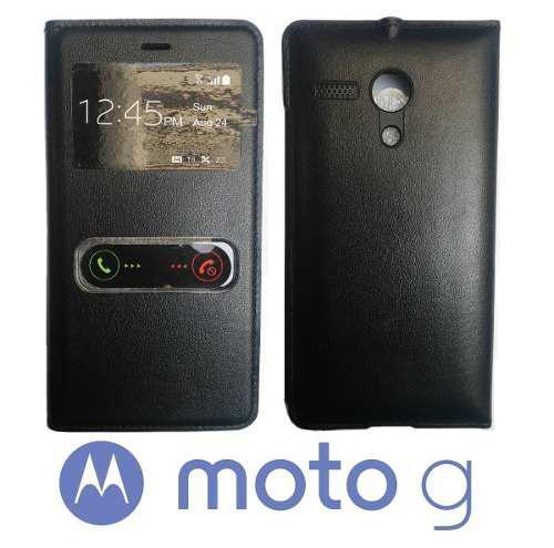Funda Flip Cover Motorola Moto G Xt1032 Xt1040 Protector