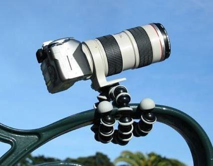 Mini Tripode Poseable Flexible Para Camara Digital Filmadora