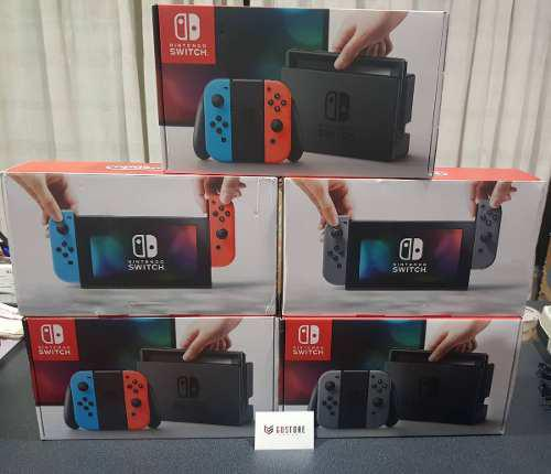 Nintendo Switch Joy-con Neon Blue & Red Y Negro Oficina